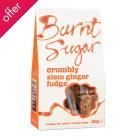 Burnt Sugar Stem Ginger Crumbly Fudge - 150g