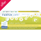 Natracare Organic Cotton Panty Liners - Ultra Thin - Pack of 22