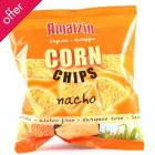 Amaizin Bio Corn Chips - Nacho Flavour - 150g