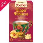 Yogi Ginger Hibiscus Tea x 17 bags