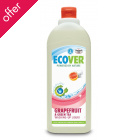 Ecover Washing Up Liquid - Grapefruit and Green Tea - 1 litre