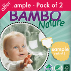 Bambo Nature Disposable Nappies - Sample Pack of 2 Nappies