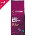 Equal Exchange Medium Roast Coffee Beans 227g