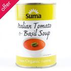 Suma Organic Italian Tomato & Basil Soup - 400g