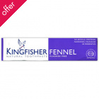 Kingfisher Toothpaste -  Fluoride Free - Fennel - 100ml