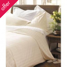 Natural Collection Organic Cotton Double Duvet Cover - Ecru
