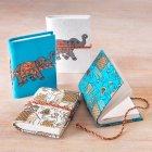 Elephant Notebook - Set of 2 - Teal