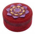 Created Suede Petals Box