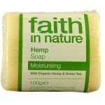 Faith in Nature Soap - Hemp with Lemongrass & Green Tea - 100g
