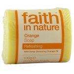 Faith in Nature Soap - Orange  - 100g