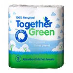 Traidcraft Recycled Kitchen Roll - Pack of 2