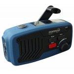 PowerPlus Panther Wind up & Solar Powered Radio & Power Bank