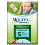 Case of 4 - Moltex Nature Disposable Nappies - Junior