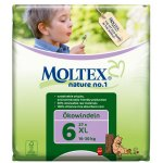 Case of 4 - Moltex Nature Disposable Nappies - XL
