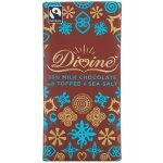 Divine Milk Chocolate with Toffee & Sea Salt - 100g