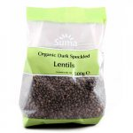 Suma Prepacks Organic Dark Speckled Lentils - 500g