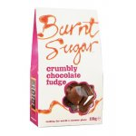 Case of 6 Burnt Sugar Chocolate Crumbly Fudge 150g