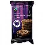 Case of 8 x Traidcraft Fairtrade Double Chocolate Chip Cookies 180g