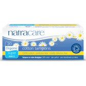 Natracare Organic Cotton Tampons - Super - Pack of 20