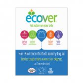 Ecover Bag in a Box Concentrated Non Bio Laundry Liquid - 5 litre