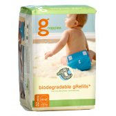 gNappies Biodegradable Disposable Inserts - Pack of 32 - Medium-Large