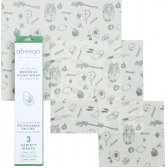 Abeego Variety Pack Food Wraps - 3 Flats