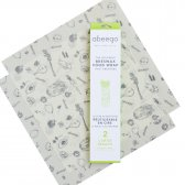 Abeego Large Pack Food Wraps - 2 Flats