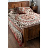 Bagru Cotton Printed Bedcover & Wallhanging