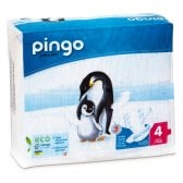 Pingo Ecological Disposable Nappies - Maxi - Size 4 - Pack of 40