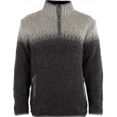 Mens Heidelberg Half Zip Jumper - Grey