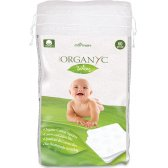 Organyc 100% Organic Cotton Squares - Pack Of 60