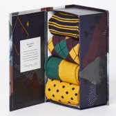 Thought Mens Funky Classic Bamboo Sock Gift Box