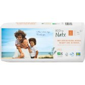 Eco By Naty Disposable Nappies Size 5 Economy Pack - Junior - Pack of 40