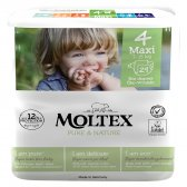 Moltex Pure & Nature Disposable Nappies - Maxi - Size 4 - Pack of 29