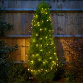 Solar Powered Warm White String Lights - 50 LED