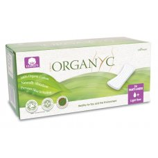 Organyc Panty Liners - Light Flow - Pack of 24