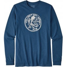 Patagonia Can't Eat Money Responsibili-Tee - Glass Blue