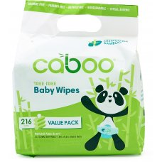 Caboo Bamboo Baby Wipes Bundle Value Pack - Pack of 216