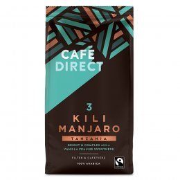 Cafedirect Kilimanjaro Fresh Ground Coffee - 227g