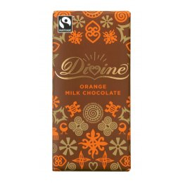 Divine Orange Milk Chocolate - 100g
