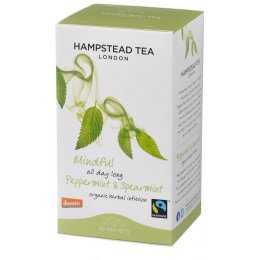 Hampstead Tea Fairtrade Organic Peppermint Infusion - 20 Bags