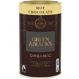 Green and Blacks Organic Hot Chocolate Drink - 300g