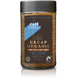 Cafedirect Classics Organic Roast Decaffeinated Instant Coffee - 100g
