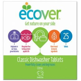 Ecover Dishwasher Tablets - Pack of 25