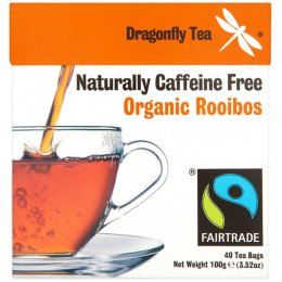 Dragonfly Fairtrade Organic Rooibos Tea - 40 Bags