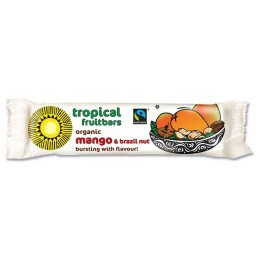 Tropical Wholefoods Mango & Brazil Flapjack Energy Bar - 40g