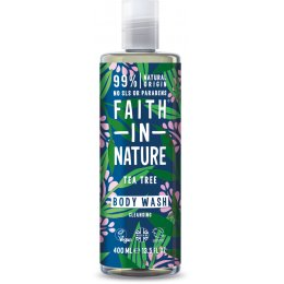 Faith In Nature Tea Tree Body Wash - 400ml