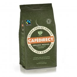 Cafedirect Organic Medium Roast Fresh Ground Coffee - 227g