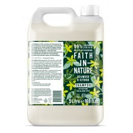 Faith In Nature Seaweed & Citrus Shampoo - 5L
