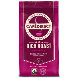 Cafedirect Rich Roast  Fresh Ground Coffee - 227g